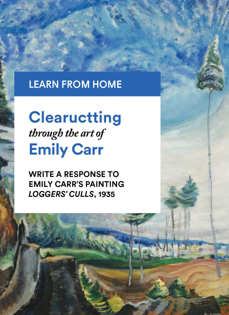 Emily Carr: Write a Response to Emily Carr's Painting Loggers' Culls, 1935
