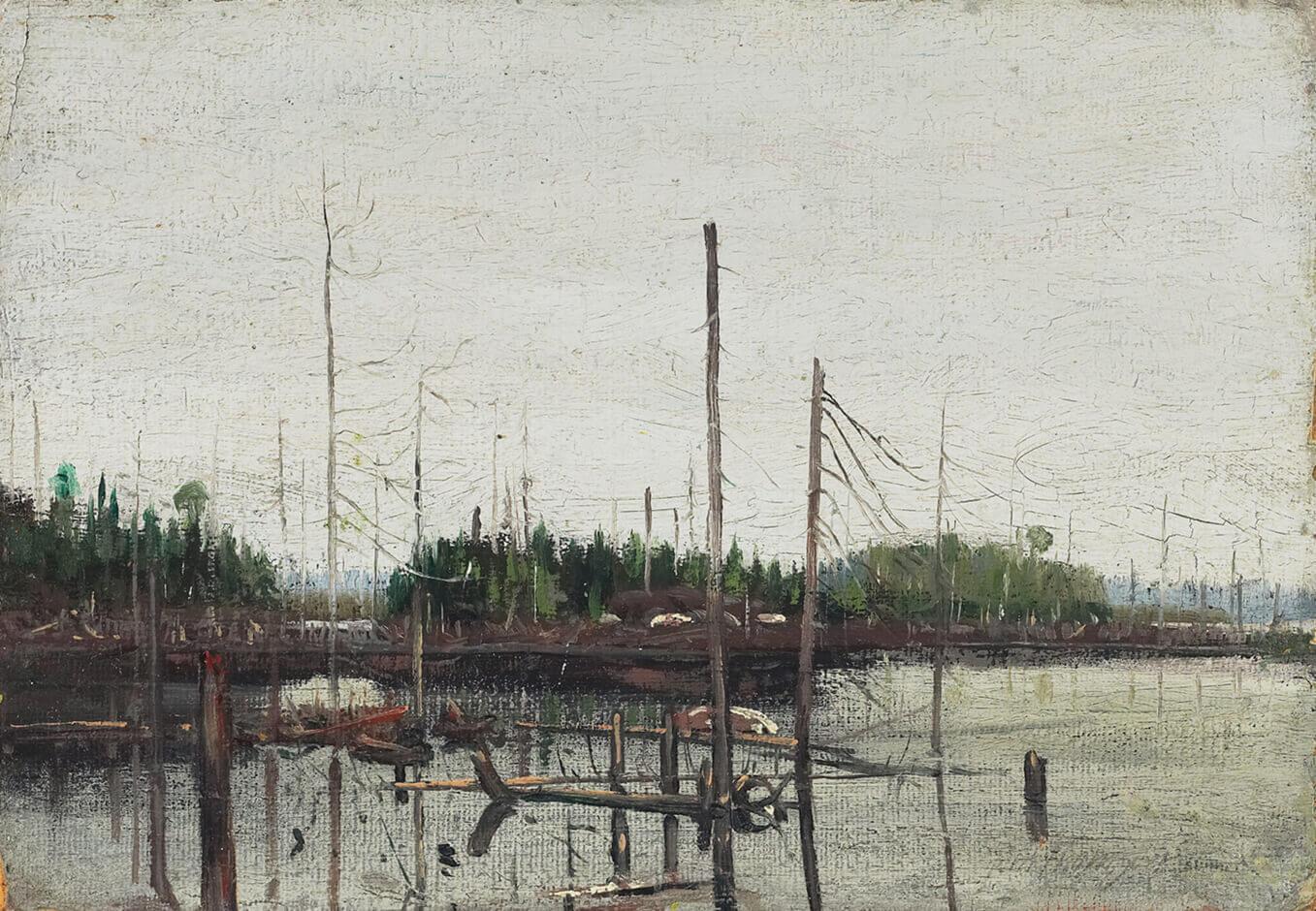 Tom Thomson, Drowned Land, 1912