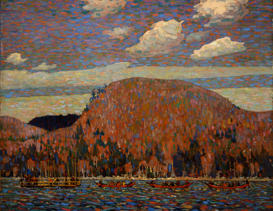 Tom Thomson, The Pointers, 1916–17