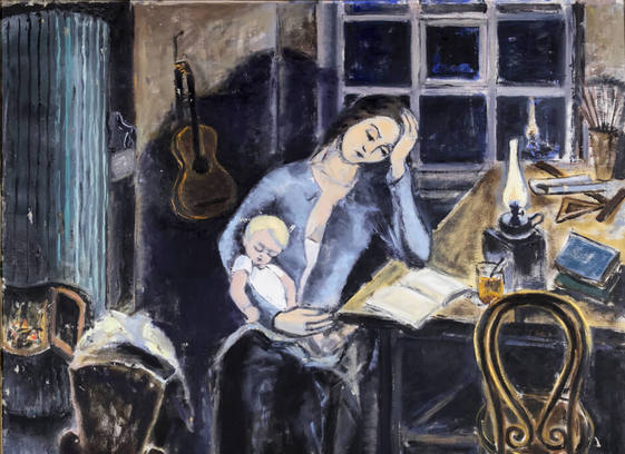 Souvenirs of Leningrad: Mother and Child