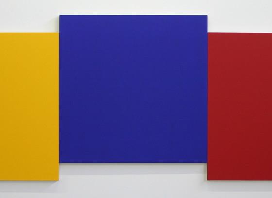 Yellow, Blue & Red IV (Jaune, bleu & rouge IV)