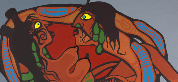Norval Morrisseau's Spiritual Vision