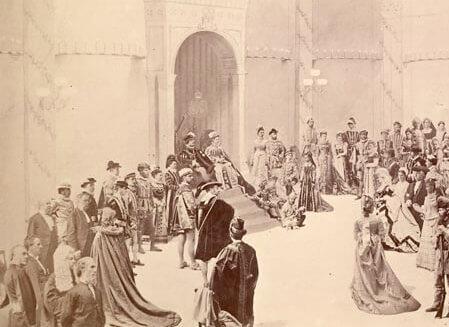 Bal masqué donné par le gouverneur général, Lord Dufferin, à Rideau Hall, le 23 février 1876