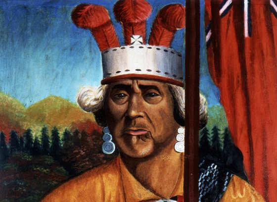 Zacharie Vincent Telari-o-lin, Huron Chief and Painter