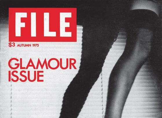 """FILE Megazine """"Glamour Issue"""""""