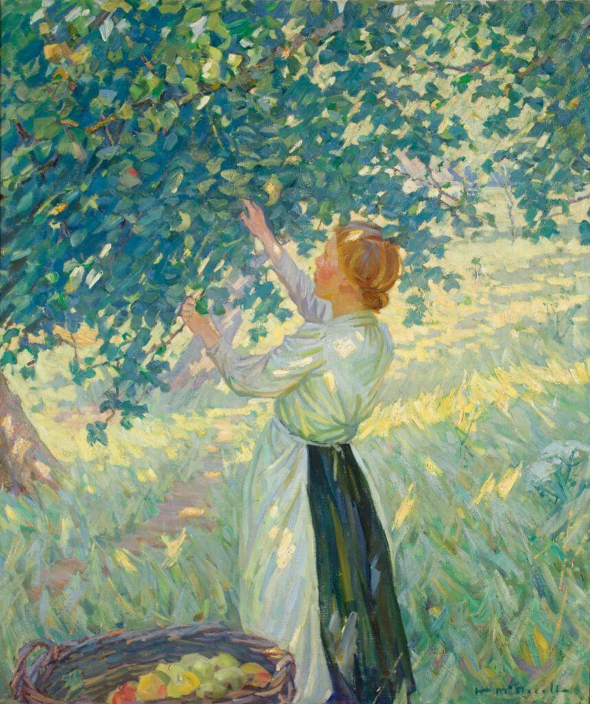 The Apple Gatherer (La cueilleuse de pommes)