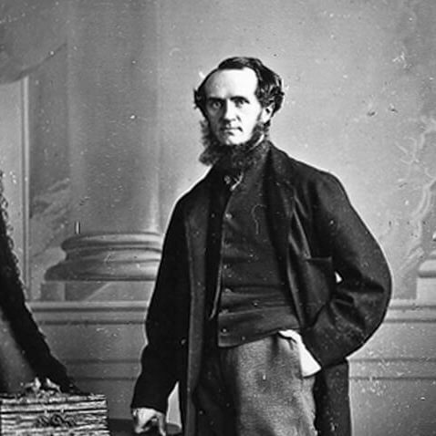 <p>William Notman, <em>William Notman, Photographer</em>, Montreal, 1863, silver salts on glass, wet collodion process, 12 x 10 cm, McCord Museum.</p>