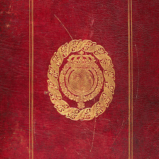 <p><em>Codex Canadensis</em>, n.d., cover, Gilcrease Museum, Tulsa, Oklahoma.</p> <p></p> <p>Banner:Louis Nicolas,<em>Amphibians</em>, n.d., ink and watercolour on paper, 33.7 x 21.6 cm,<em>Codex Canadensis</em>, page 37, Gilcrease Museum, Tulsa, Oklahoma.</p>