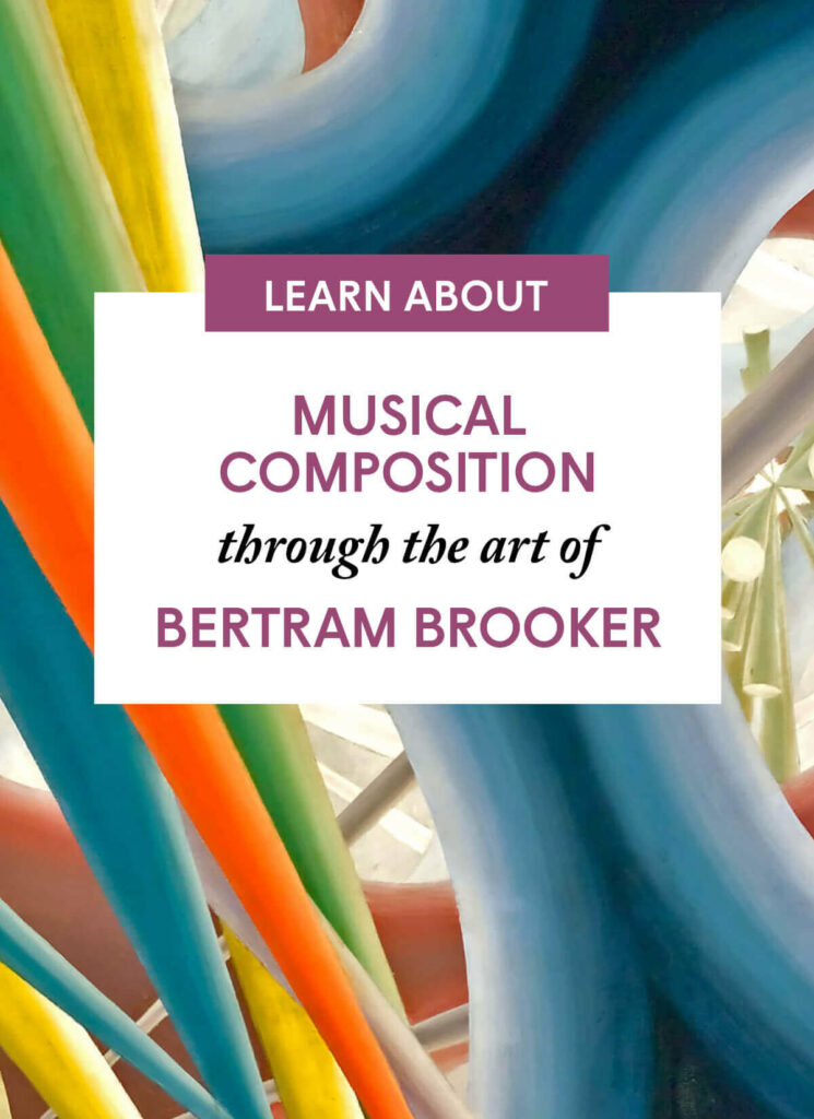 Musical composition through the art of Bertram Brooker