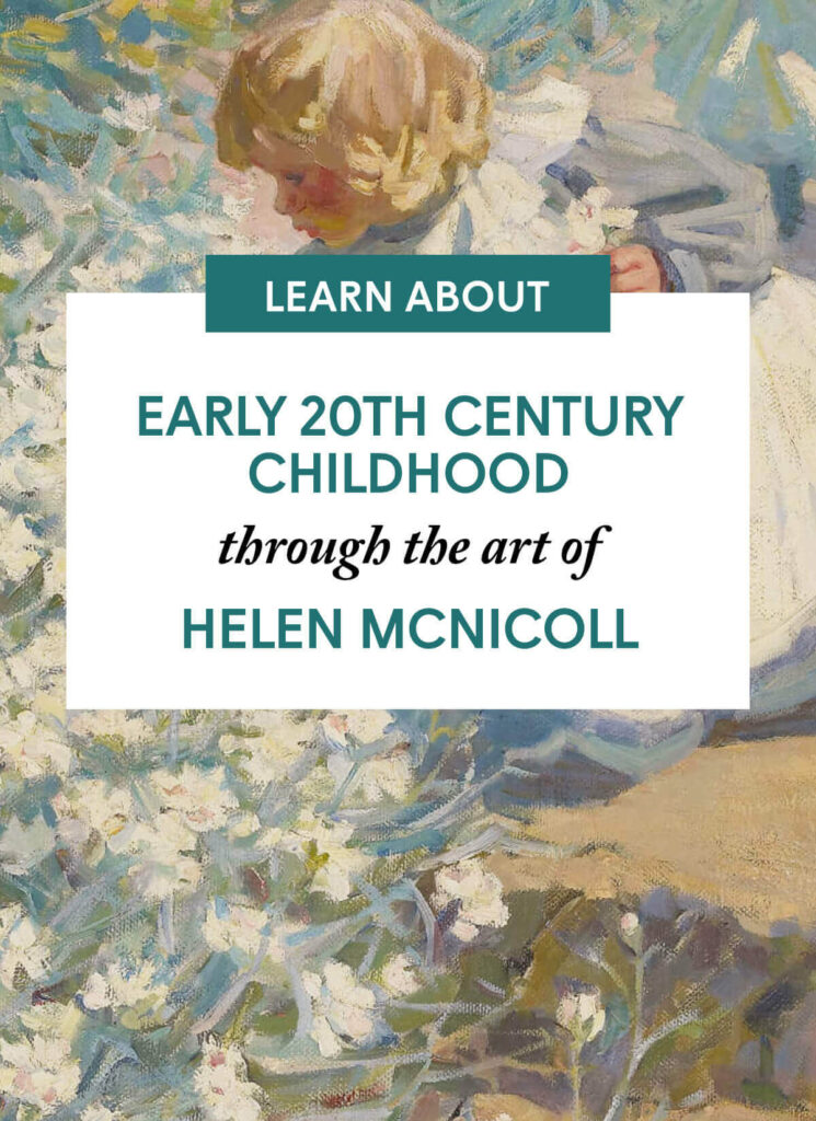 Early 20th Century Childhood through the art of Helen McNicoll