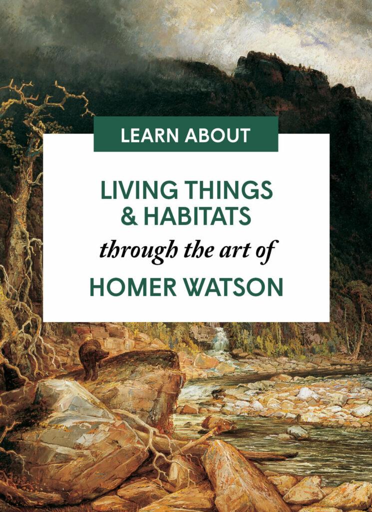 Living Things & Habitats through the art of Homer Watson