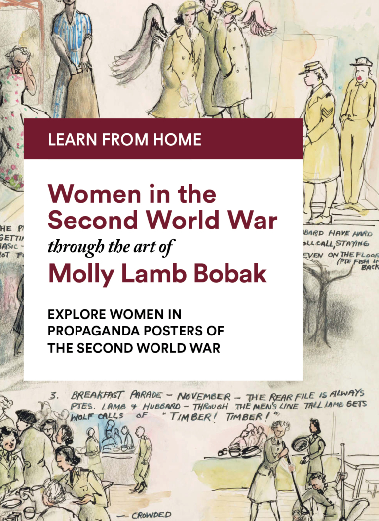Molly Lamb Bobak: Explore Women in Propaganda Posters of the Second World War