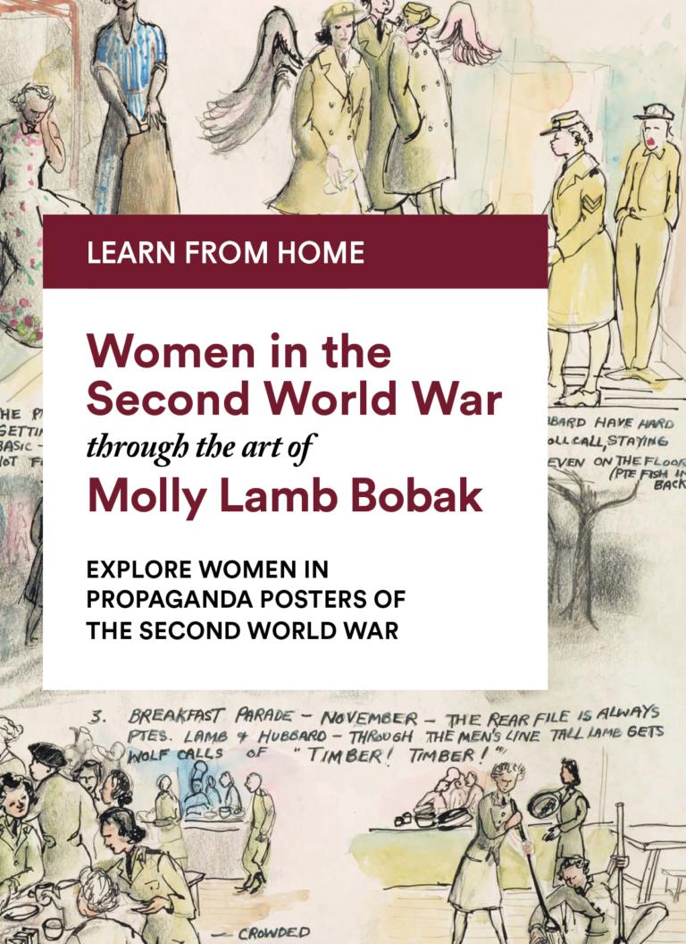 Molly Lamb Bobak: Explore Women in Propaganda Posters of the Second World War