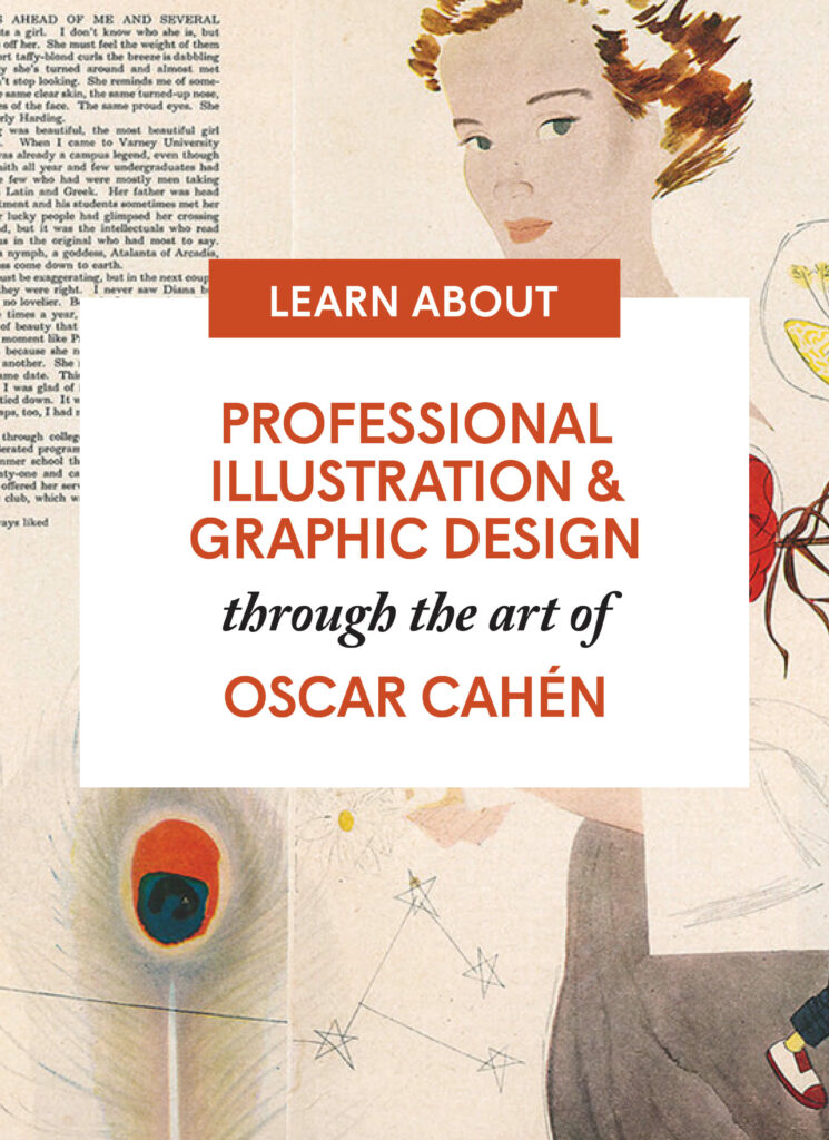 Professional Illustration and Graphic Design through the art of Oscar Cahén