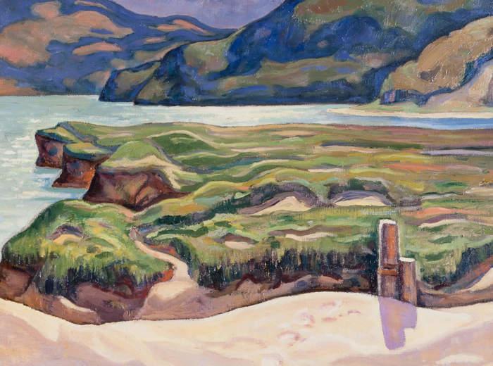 Jean Paul Lemieux, Soleil d'après-midi, 1933