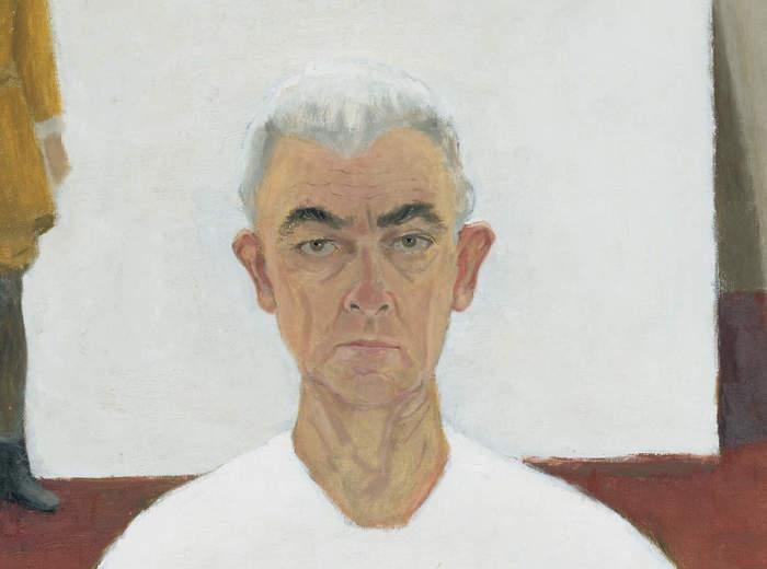 Jean Paul Lemieux, Autoportrait, 1974