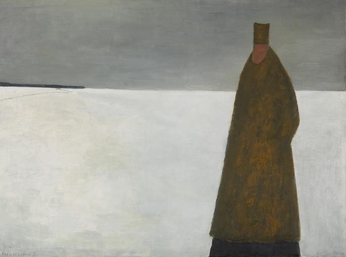 Jean Paul Lemieux, Le visiteur du soir, 1956