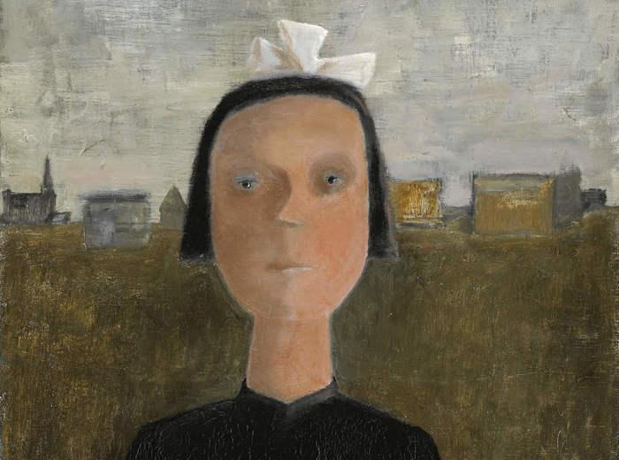 Jean Paul Lemieux, L'orpheline, 1956
