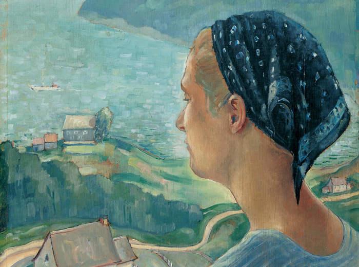 Jean Paul Lemieux, Les beaux jours, 1937