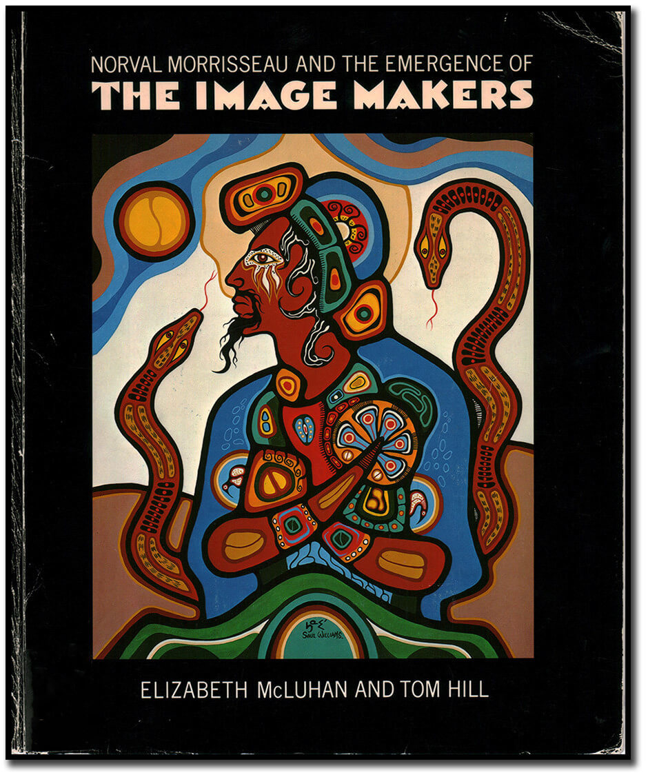 Art Canada  Institute, Saul Williams's Homage to Morrisseau is featured on the cover of the exhibition catalogue Norval Morrisseau and the Emergence of the Image Makers