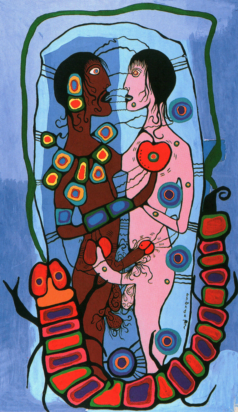 Art Canada Institute, Norval Morrisseau, Indian Erotic Fantasy, n.d.