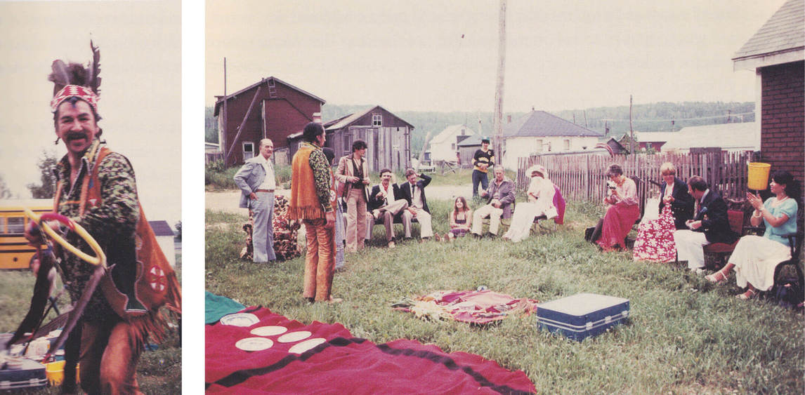 Art Canada Institute, Norval Morrisseau's tea party held in Beardmore, ON, 1978