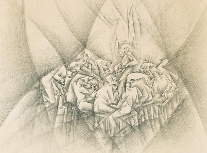 Kathleen Munn, Last Supper, 1938
