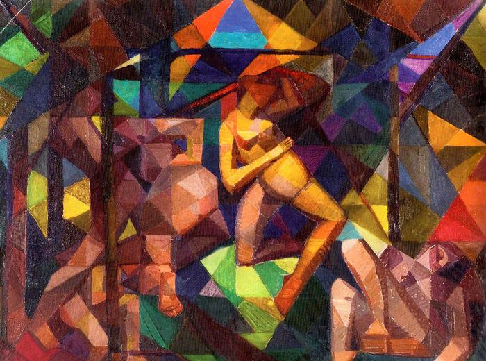Kathleen Munn, The Dance, c. 1923
