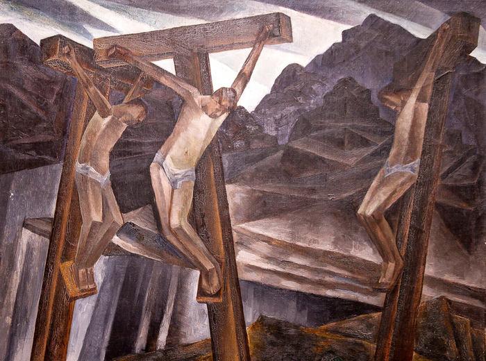 Kathleen Munn, Untitled (Crucifixion), c.1927–28