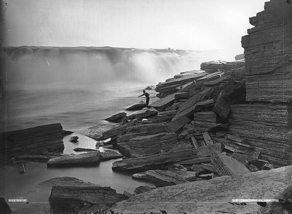 Art Canada Institute, William Notman, Chaudière Falls, 1870