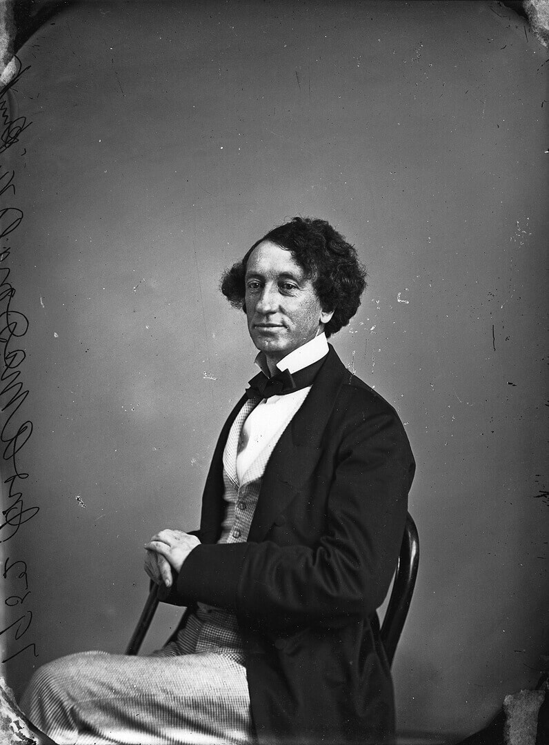 Art Canada Institute, William Notman, John A. Macdonald, Politician, 1863