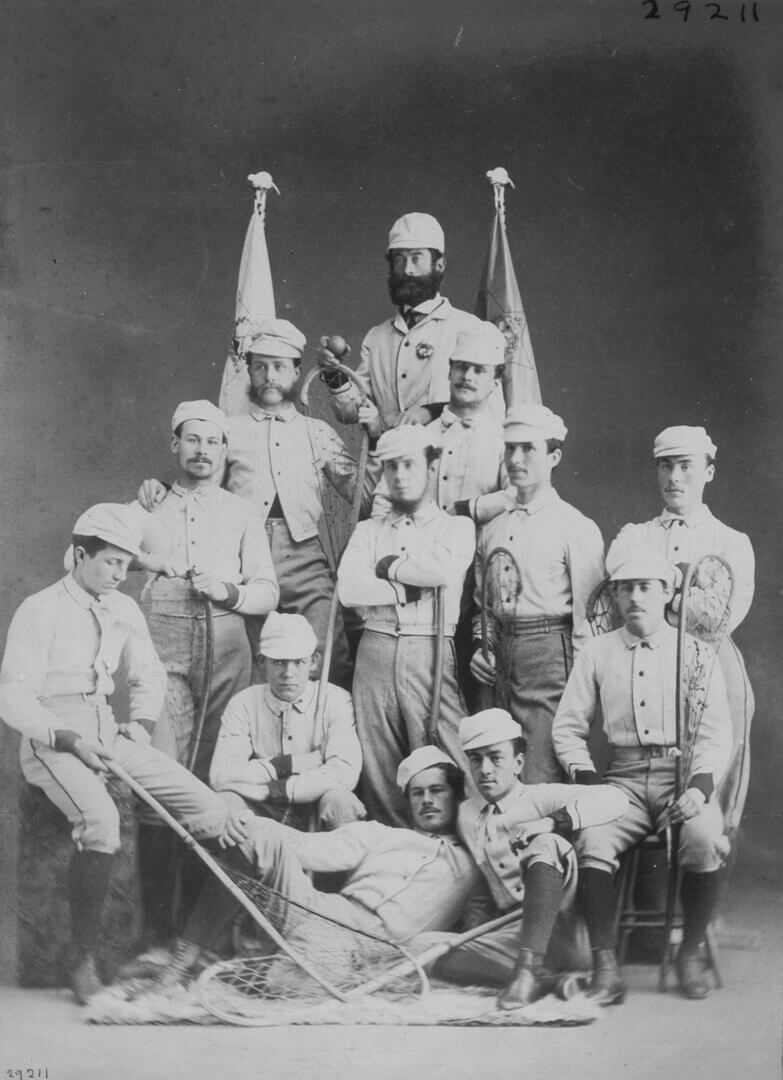 Art Canada Institute, William Notman, Montreal Lacrosse Club, 1867