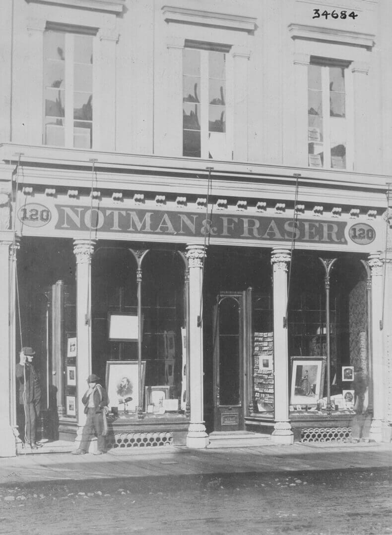 Art Canada Institute, William Notman, Notman & Fraser Photographic Studio, 1868