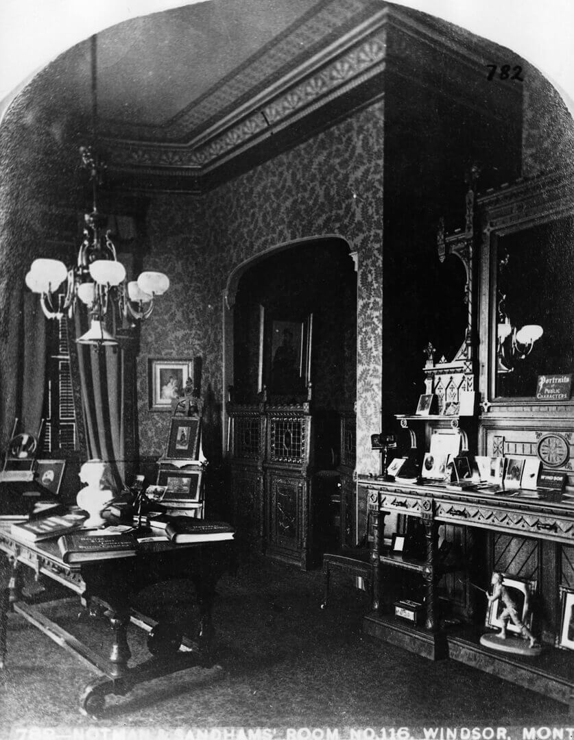 Art Canada Institute, Notman & Sandham, Notman & Sandham's Room, Windsor Hotel, 1878