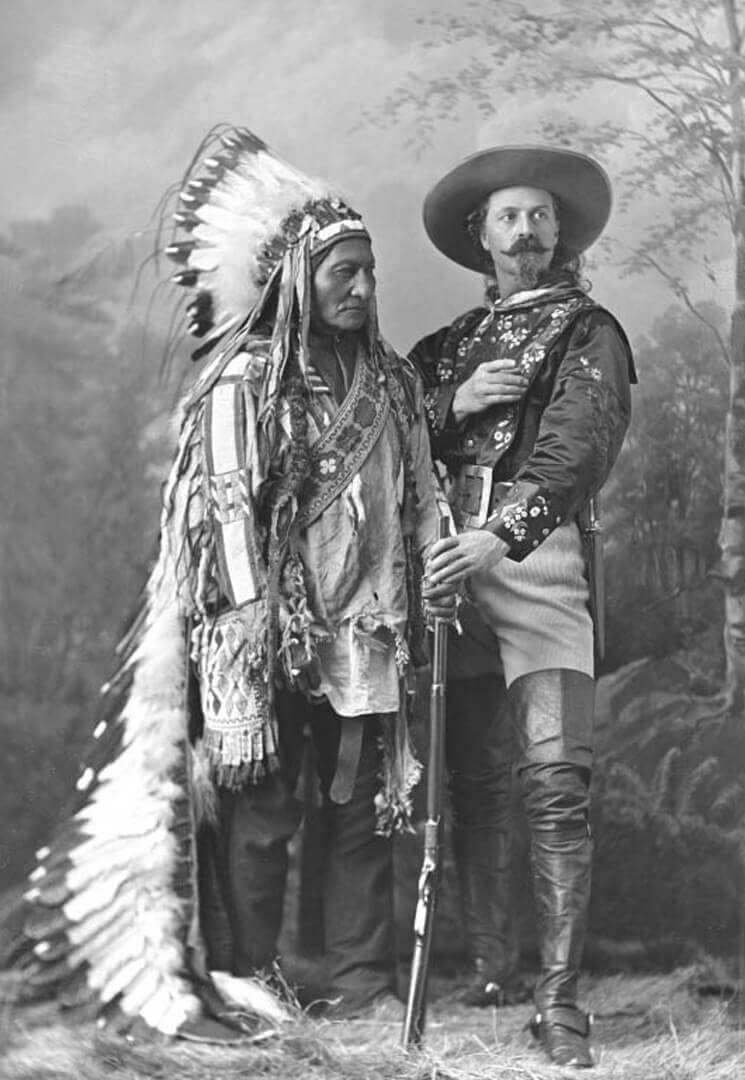 Art Canada Institute, William Notman & Son, Sitting Bull and Buffalo Bill, 1885