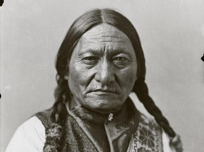William Notman & Son, Sitting Bull, Montréal, 1885