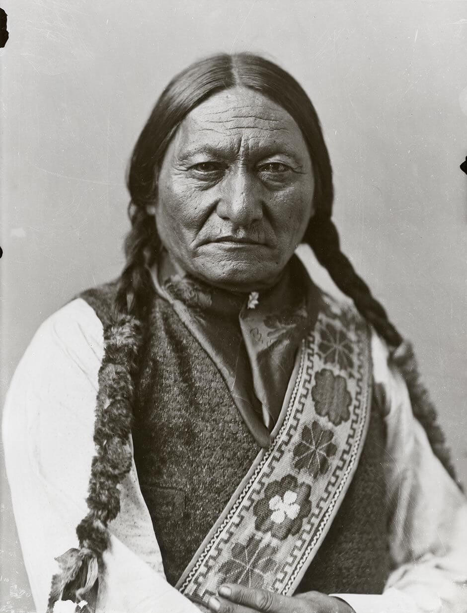 William Notman & Son, Sitting Bull, Montréal, 1885