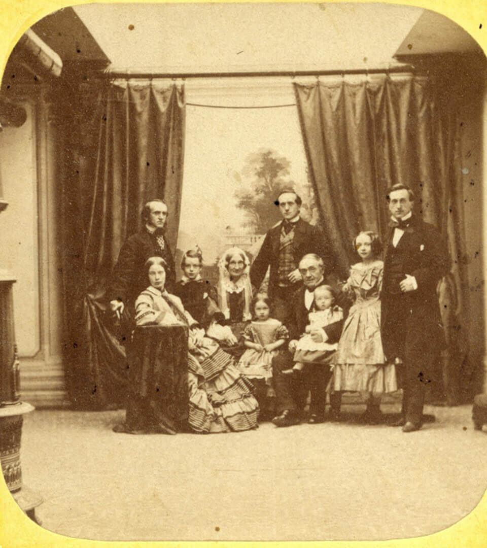 Art Canada Institute, William Notman, William Notman and Family, 1859
