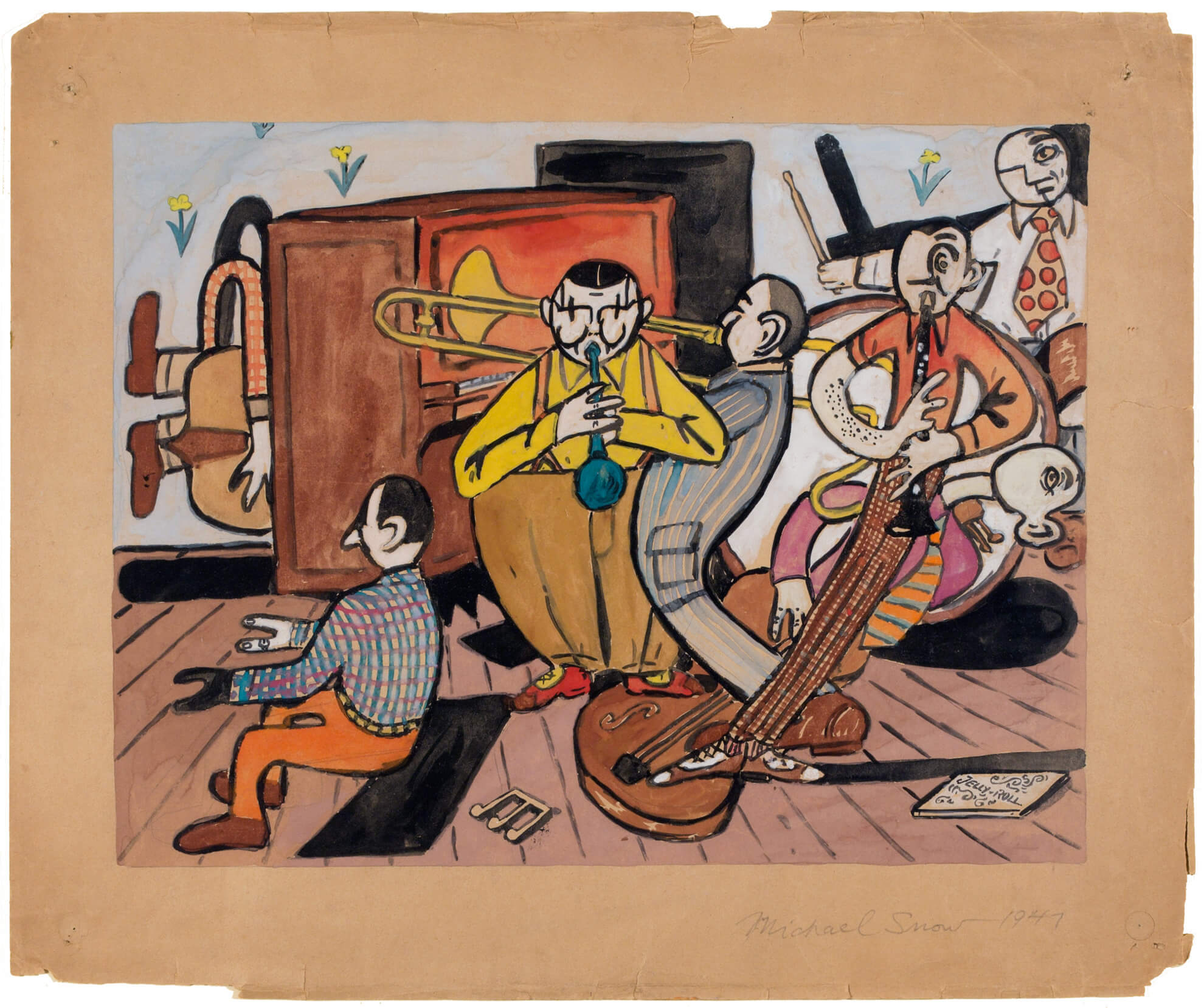 Art Canada Institute, Michael Snow, Jazz Band, 1947