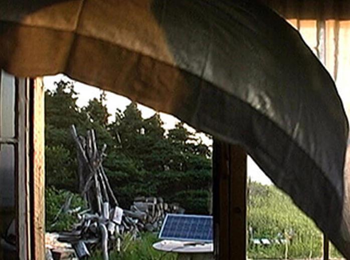 Michael Snow,Souffle Solaire (Cariatides du Nord), 2002