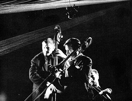 Art Canada Institute, Michael Snow, Still from Toronto Jazz, 1964