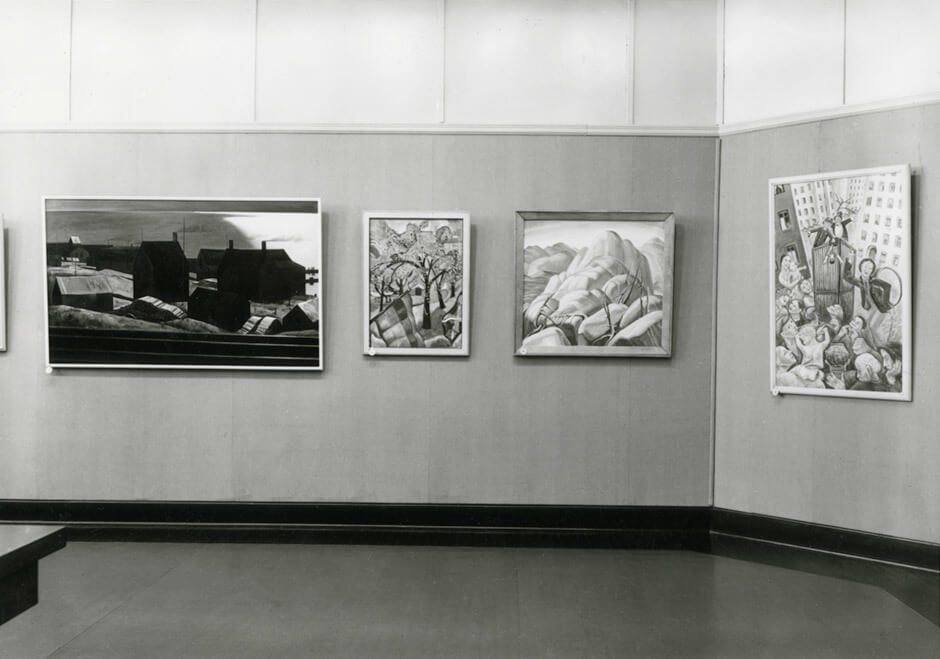 Art Canada Institute, Paraskeva Clark, Canadian Group of Painters Exhibition at the National Gallery of Canada, Ottawa, february 9–28, 1938