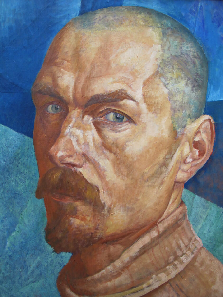 Art Canada Institute, Kuzma Petrov-Vodkin, Self-portrait, 1918