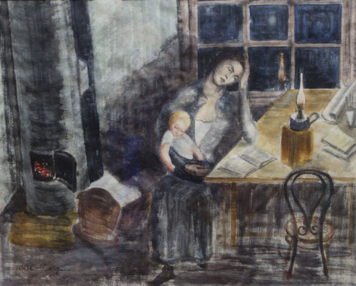 Art Canada Institute, Paraskeva Clark, Mother and Child, 1941