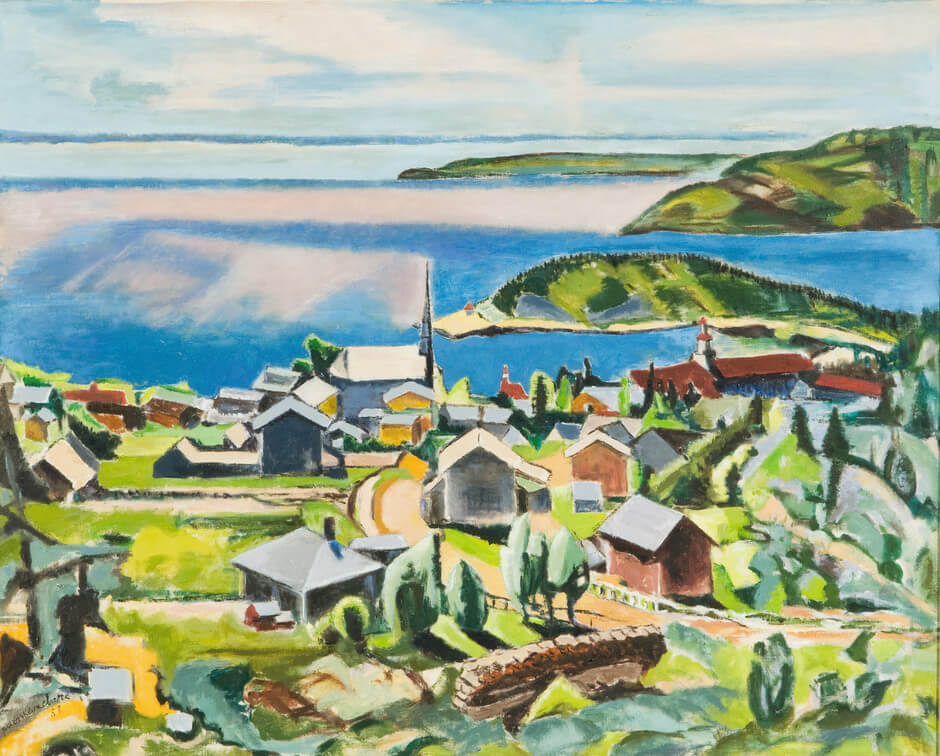 Art Canada Institute, Paraskeva Clark, Noon at Tadoussac, 1958