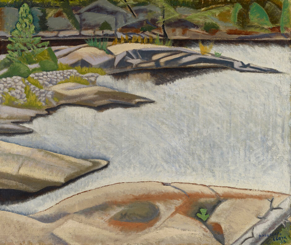 Art Canada Institute, Paraskeva Clark, On Hahn's Island, 1938