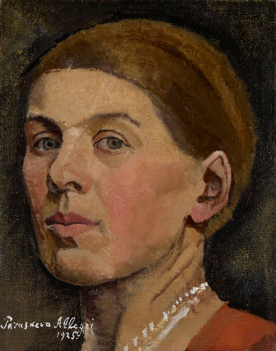 Art Canada Institute, Paraskeva Clark, Self Portrait, 1925