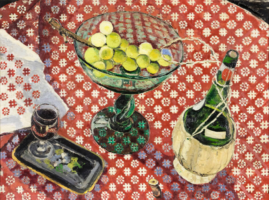 Art Canada Institute, Paraskeva Clark, Still Life with Alabaster Grapes, 1956