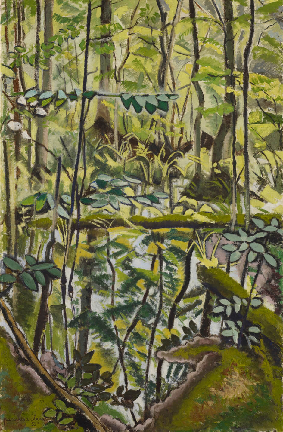 Art Canada Institute, Paraskeva Clark, Swamp, 1939