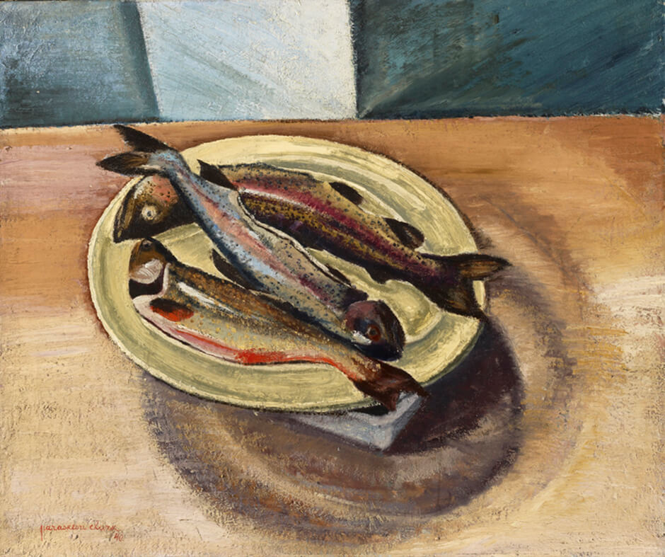 Art Canada Institute, Paraskeva Clark, Trout, 1940